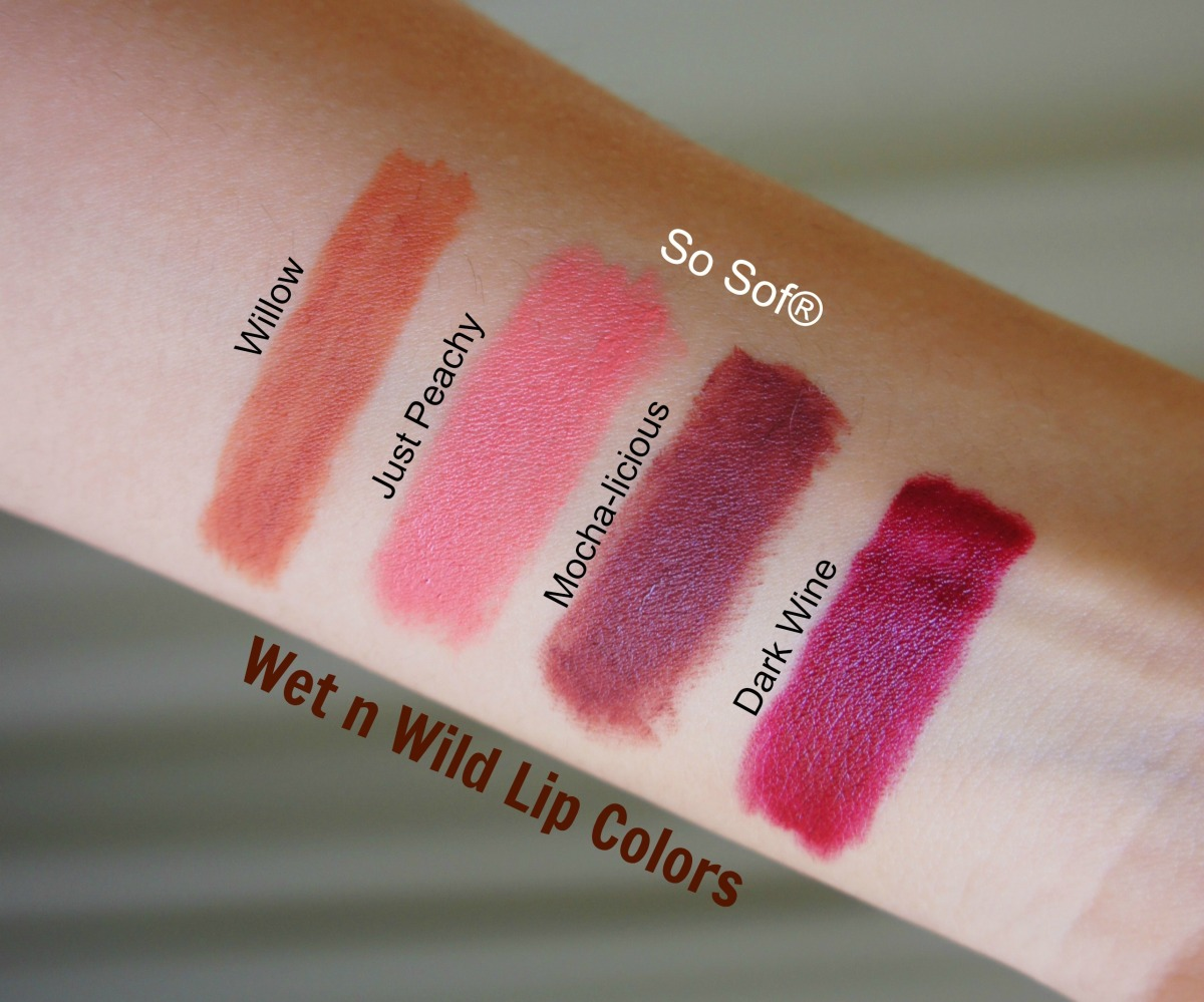Wet n Wild Lipsticks & Lipliner Collection