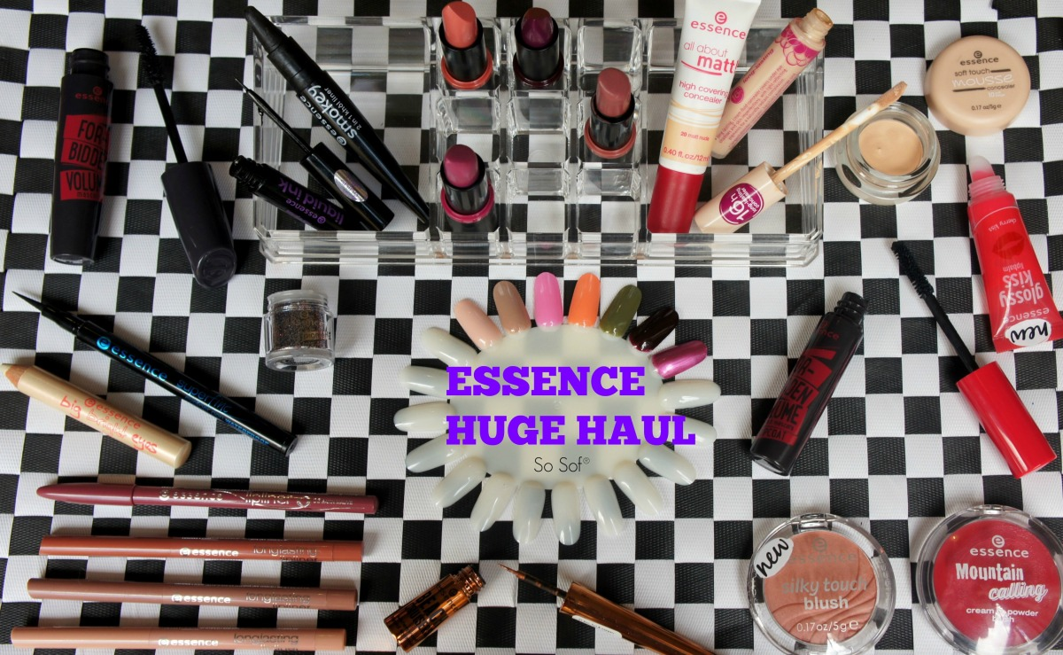 Essence Huge Haul: Review & Swatches!