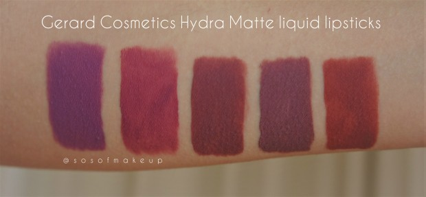 My fav matte liquid lipstick? Review & Swatches on 5 shades of ...