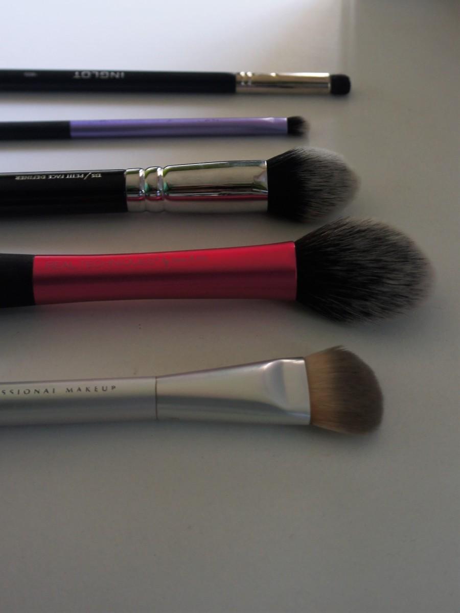 My precious brushes: Τα αγαπημένα μου πινέλα μακιγιάζ!